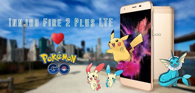 Innjoo Fire 2 Plus LTE y Pokemon GO
