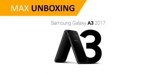 Unboxing Galaxy A3 2017 MAXmovil