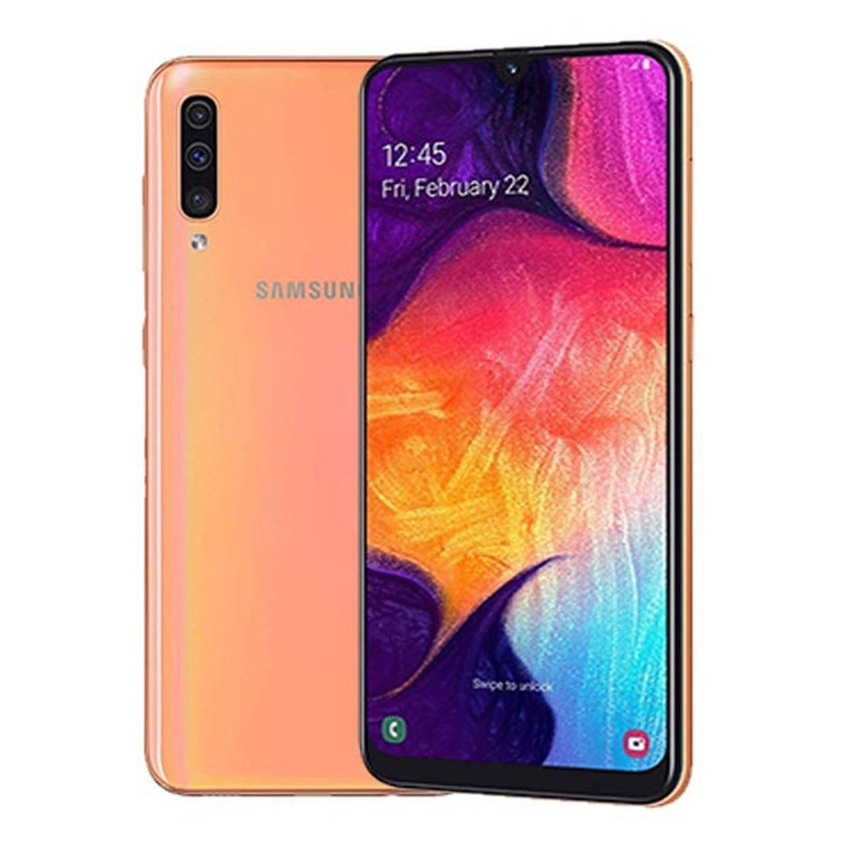 Samsung galaxy a50 sm-a505fn 4gb/128gb coral