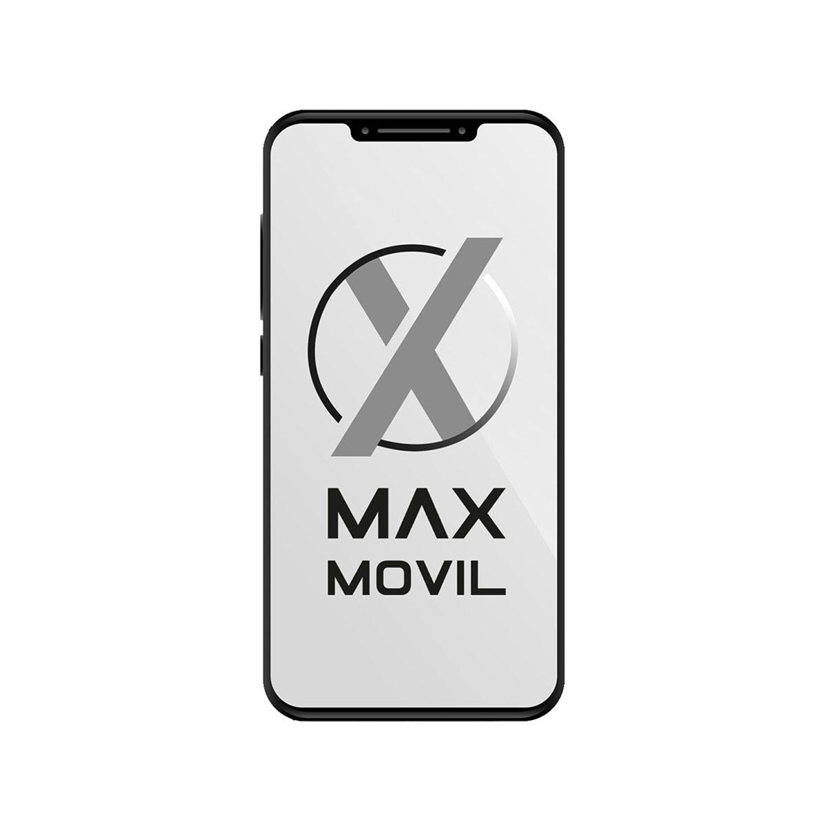 Apple Watch Series 5 Nike GPS + Cellular, Caja 44mm Aluminio Plata y correa deportiva platino puro/negro MX3E2TY/A