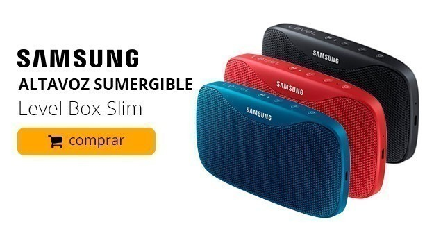Altavoz sumergible Samsung Level Box Slim