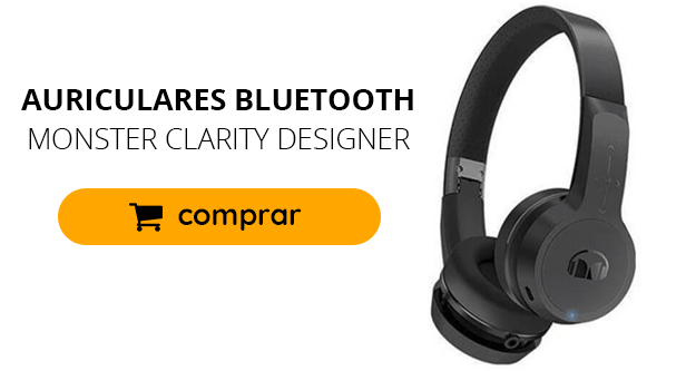 Auriculares Bluetooth Monster Clarity Designer