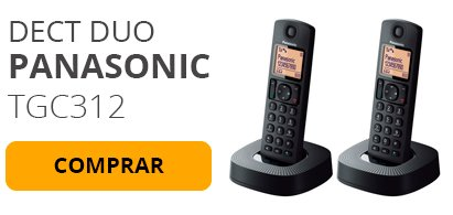 Dect Duo Panasonic TGC312