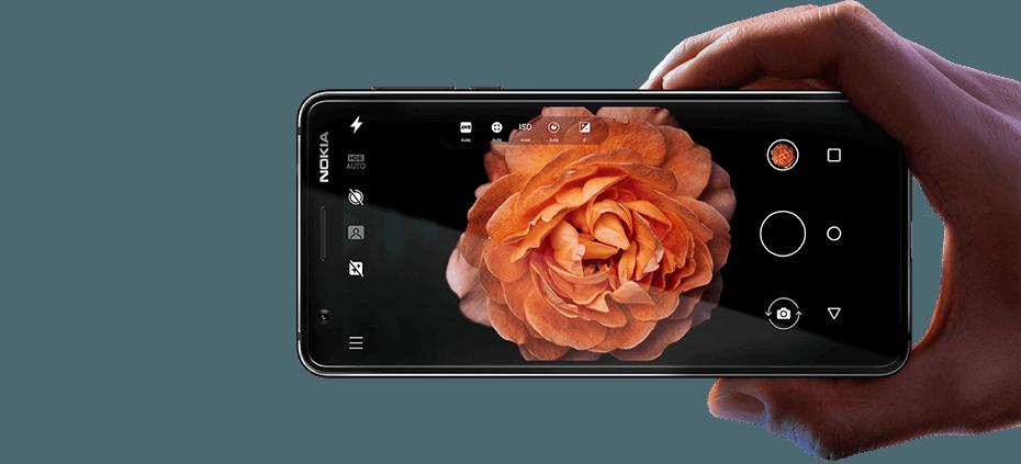 Cámara Nokia 3.1