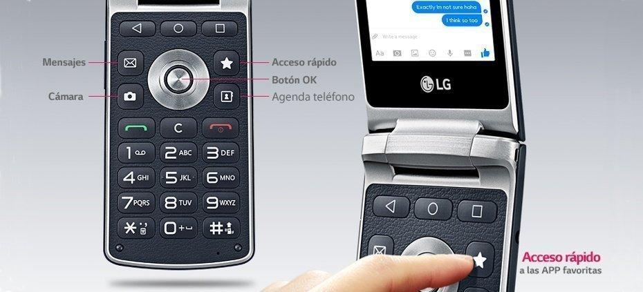 LG Wine Smart botones