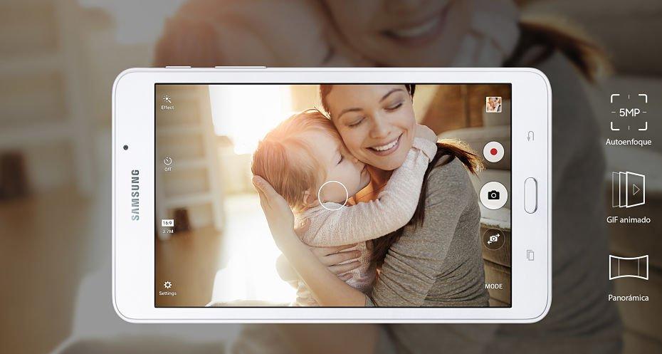 rápida cámara de tu Galaxy Tab A (2016