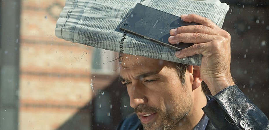 Sony Xperia Z5 resistente al agua