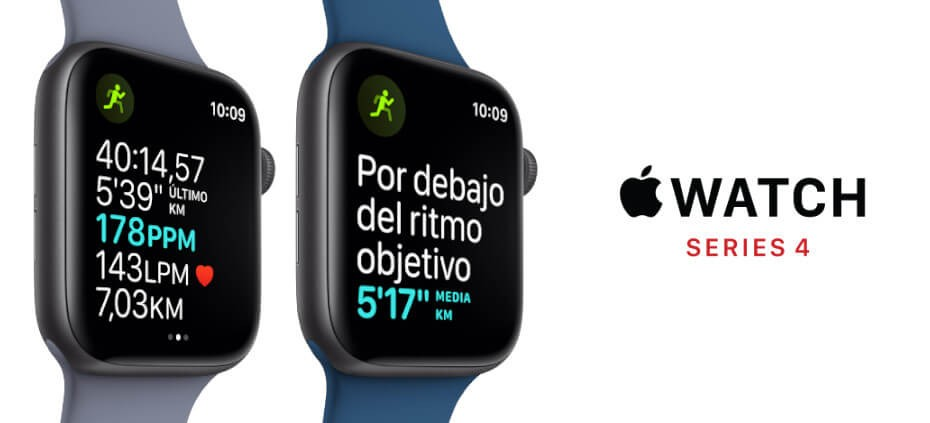 Apple Watch pantalla