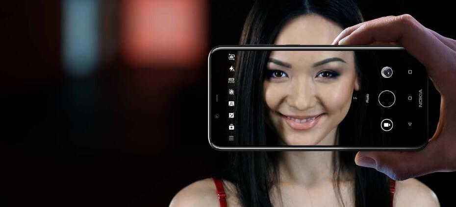 Camara Nokia 5.1 Plus