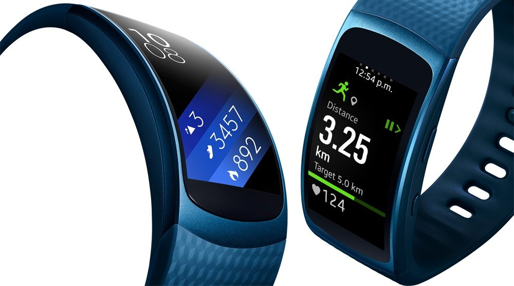 Samsung Gear Fit 2 tamaño L