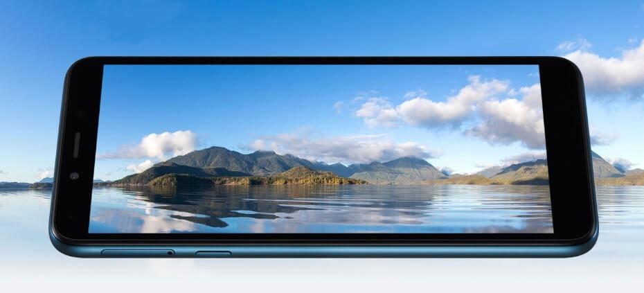 LG K20 pantalla