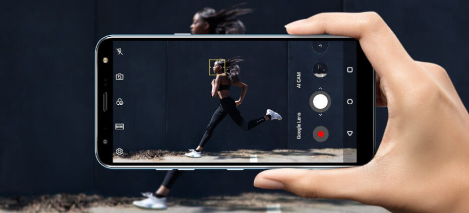 LG K40 cámara