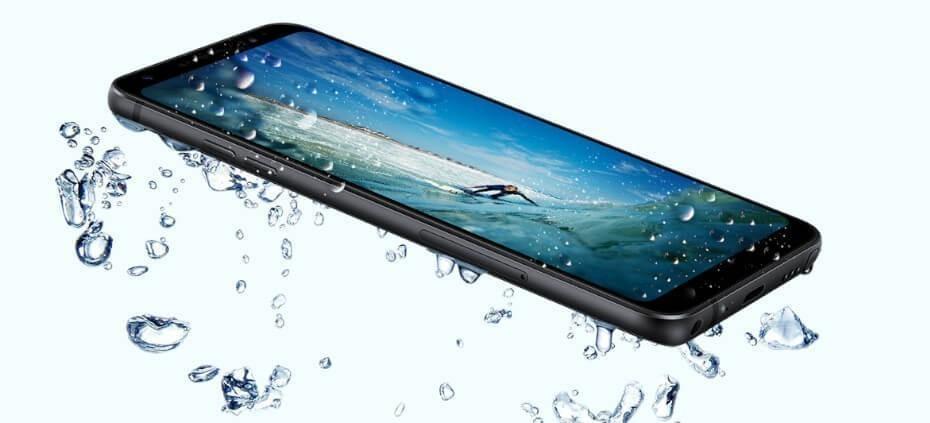 LG Q Stylus resistente al agua