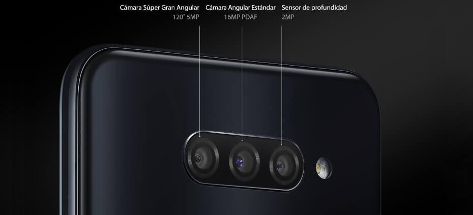 LG Q60 cámara