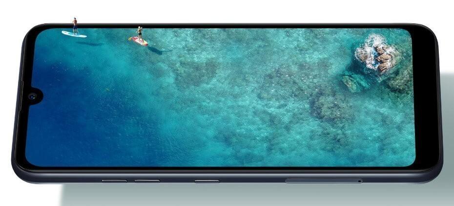LG Q60 pantalla