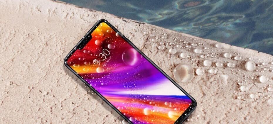 LG G7 ThinQ resistente agua
