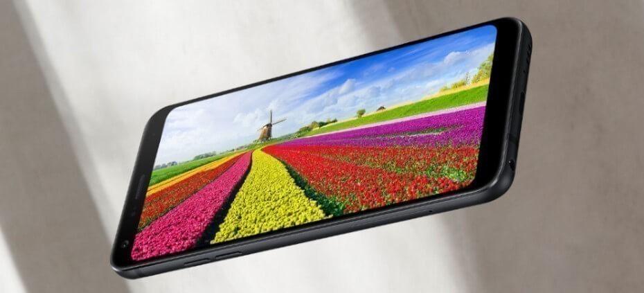 LG Q7 pantalla
