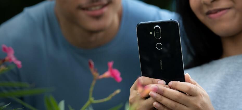 Nokia 8.1 camara