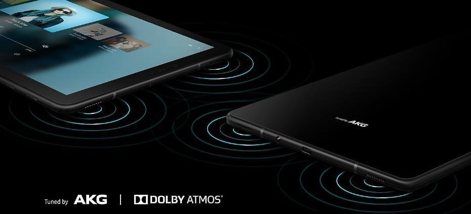 Samsung Galaxy Tab S4 Dolby