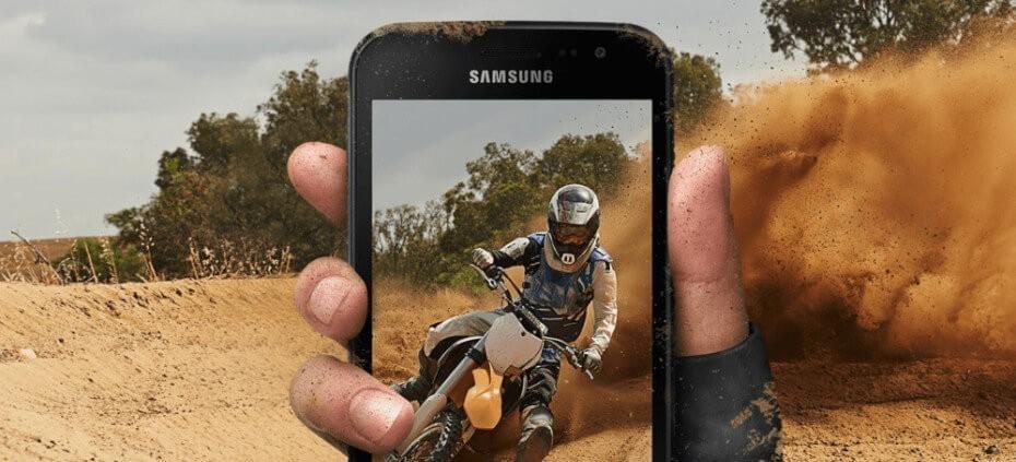 Samsung Galaxy Xcover 4s resistencia
