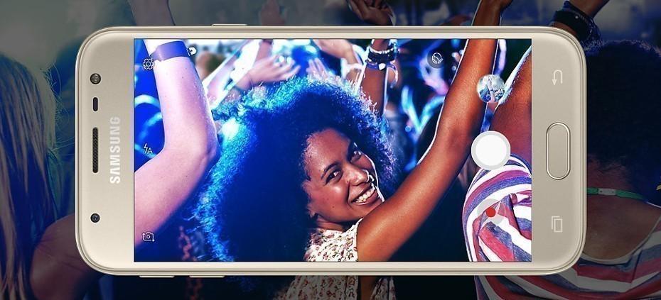 Cámara del Samsung Galaxy J3 2017