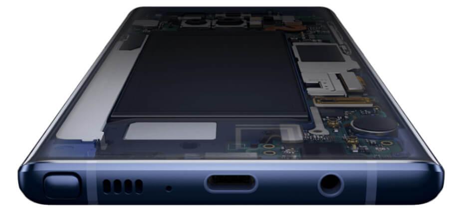 Samsung Galaxy Note 9 procesador