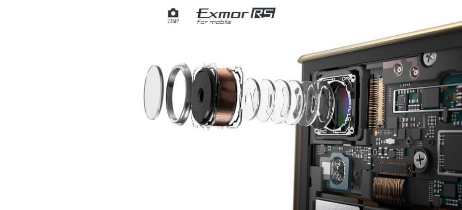 Sony Xperia XA1 Plus cámara