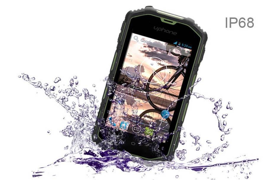 uphone 5a móvil resistente agua, polvo y golpes