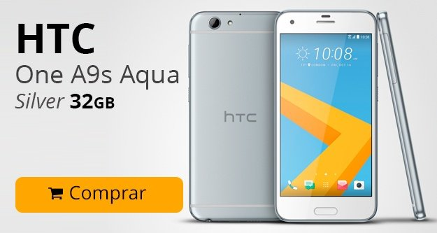 HTC One A9s Aqua Silver 32 GB