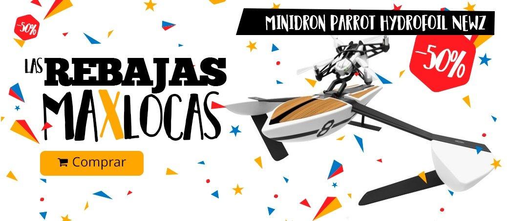 Minidron Parrot Hydrofoil NewZ