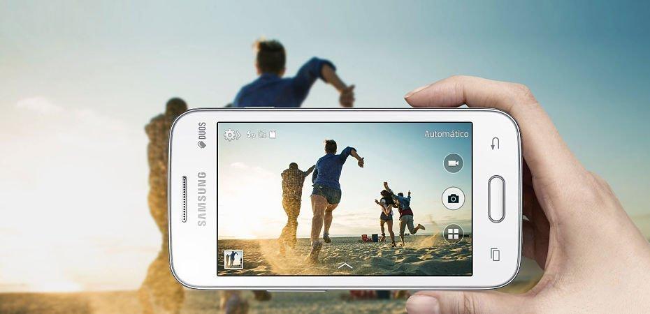 Cámara del Samsung Galaxy Ace 4 Neo