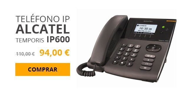 telefono ip alcatel temporis ip600