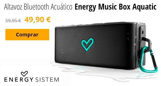 altavoz bluetooth acuatico energy music box aquatic
