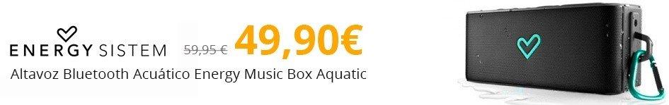 Altavoz Bluetooth Acuático Energy Music Box Aquatic