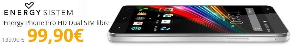 Energy Phone Pro HD Dual SIM libre