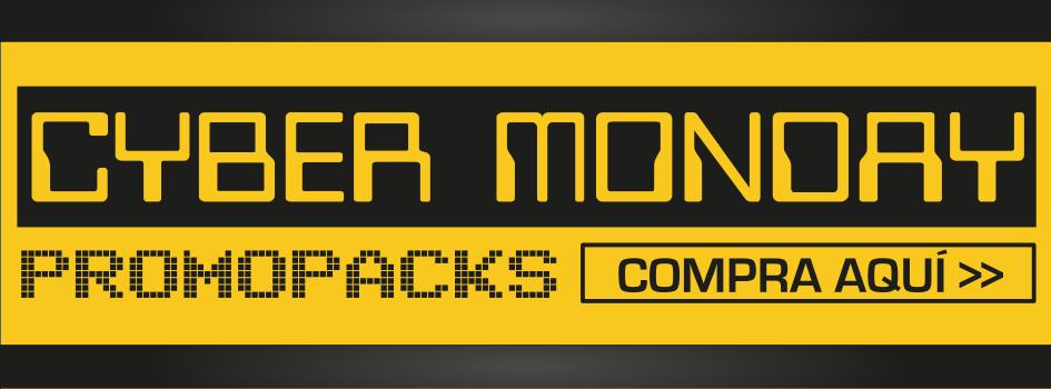 Los mejores promopacks en el Ciber Monday