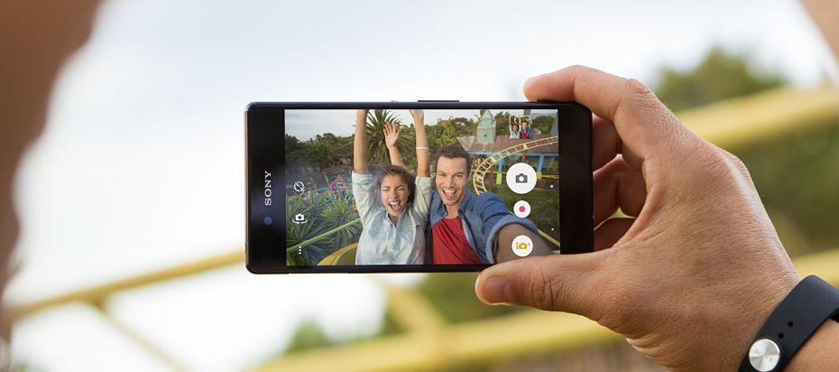 Sony Xperia Z3+ cámara
