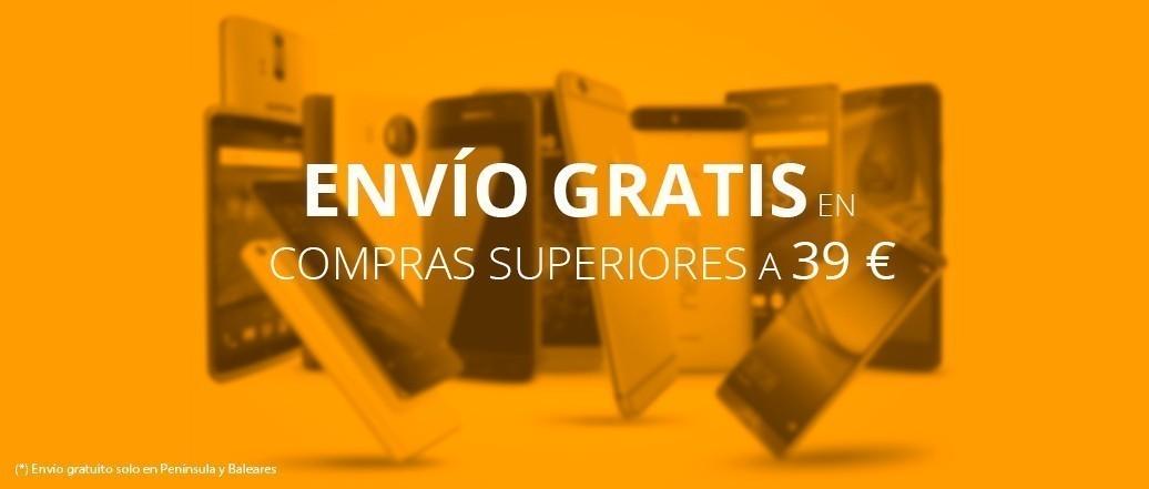 ENVÍO GRATIS EN COMPRAS SUPERIORES A 39 €