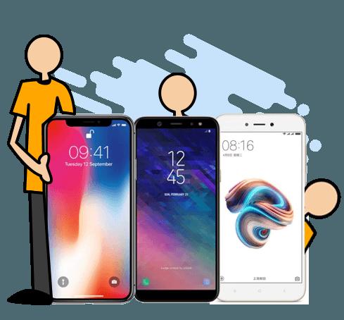 Diferencias entre los móviles, según la gama que sea