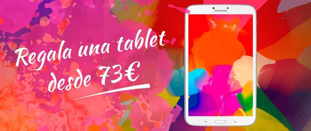 Regala una tablet desde 73€