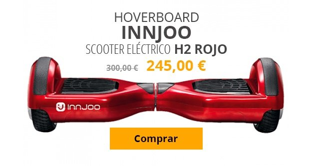 hoverboard innjoo scooter electrico h2