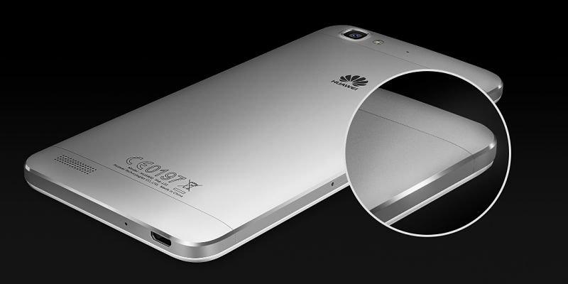 Huawei GR3 diseño