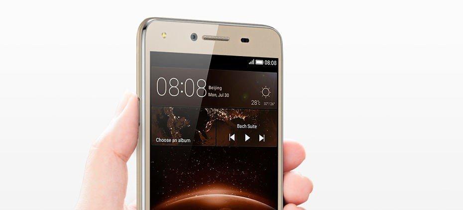 Huawei Y5 II libre accesos rápidos