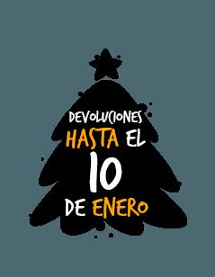 Devoluciones hasta el 10 de enero
