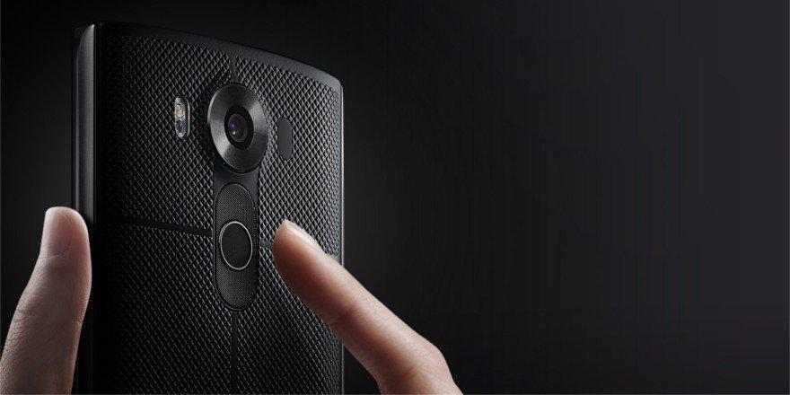 LG V10 sensor huella