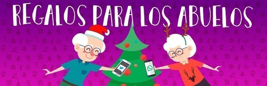 Regalos de navidad para los abuelos