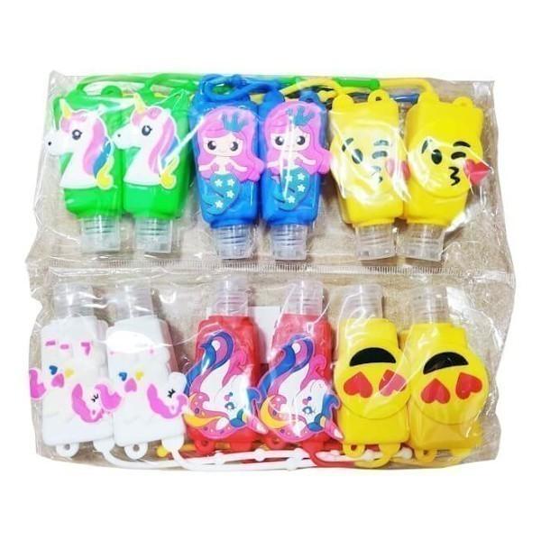 bote gel infantil pack